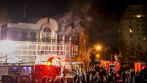 مسقط وعمّان تنضمان لموجة استنكار حرق سفارة السعودية بإيران.. وسفير طهران بالكويت يستبعد قطع العلاقات