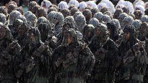 """الحرس الثوري الإيراني يتوعد بـ""""اجتثاث"""" داعش ووزير الإعلام السوري ينفي وجود قوات لطهران ببلاده"""