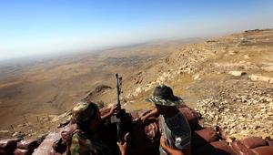 مقتل عنصرين كرديين وجرح جنديين فرنسيين بتفجير طائرة أطلقها داعش