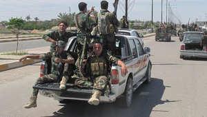 العراق يدمر قافلة تابعة لداعش داخل الأراضي السورية