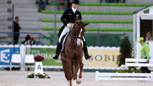 كالعادة ألمانيا بفضل فارساتها بطلة العالم في ترويض الخيول