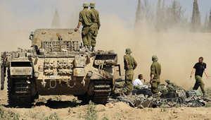 صاروخان من لبنان وخمسة من سوريا تسقط على إسرائيل مع ارتفاع التوتر في غزة