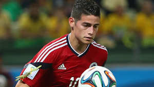 لاعب المنتخب الكولومبي جيمس رودريغيز