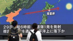 لأول مرة منذ 1998.. كوريا الشمالية تطلق صاروخاً فوق اليابان