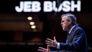 """المرشح الجمهوري جيب بوش يحث أمريكا على الابتعاد عن """"التعددية الثقافية"""""""