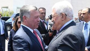 عاهل الأردن يزور رام الله ويجتمع مع محمود عباس