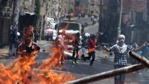 محتجون أكراد في اشتباكات مع قوات الأمن التركية