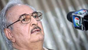 جماعة الإخوان تهاجم اللواء حفتر: سيسي ليبيا يحاول تكرار الإنقلاب بدعم دول عربية