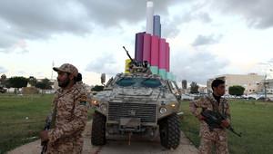 عناصر من الأمن الليبي في بنغازي
