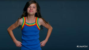 من حملة Like A Girl على يوتيوب