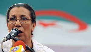"""الجزائر: المرشحة الوحيدة للرئاسة تحذر من القتال المذهبي وفوضى """"الربيع العربي"""""""