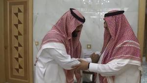 محمد بن نايف يبايع محمد بن سلمان ولياً للعهد