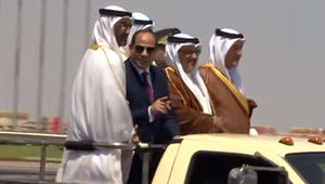 """محمد بن زايد يشيد بدور القوات المسلحة المصرية في """"ردع الطامعين"""""""