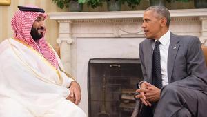 """أوباما يستقبل محمد بن سلمان في البيت الأبيض.. ويبحثان أوضاع المنطقة و""""رؤية السعودية 2030"""""""
