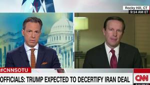 سيناتور لـCNN: الخروج من الاتفاق النووي سيضر أمريكا ويفيد إيران