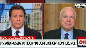 John McCain questioned Donald Trump's understanding of Syria