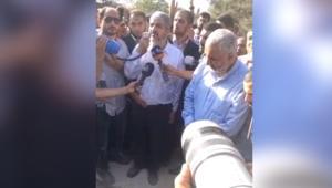 مشعل في دفن والدته بالأردن: أولادك وأحفادك سيدفنون في فلسطين