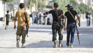 الجيش الحر يتقدم نحو الباب وطائرات تركيا تقصف داعش بالمدينة