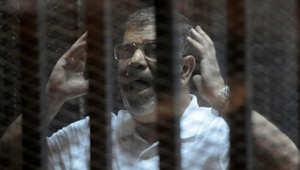 محاكمة مرسي بتهم التخابر تُستكمل الأحد بعد جلسة صاخبة طلب فيها مرسي شهادة السيسي وتناول التسريبات