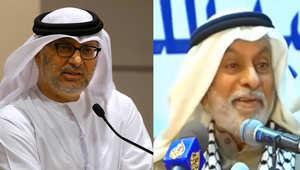 الدكتور عبد الله النفيسي والدكتور أنور قرقاش