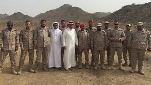 ماذا يفعل ناصر القصبي مع جنود الحد الجنوبي السعودي؟