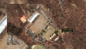 موقع التجارب النووية الكورية الشمالية الآن.. ملعب للكرة الطائرة؟