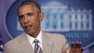 بدلة أوباما التي أثارت الجدل