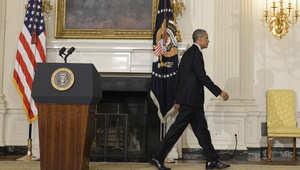 الطفل تسلل عبر قضبان حاجز البيت الأبيض