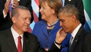 جنبلاط معلقاً على صورة تجمع أوباما وأردوغان وميركل: ناقصهم بوتين ليصيروا 4 إخوان