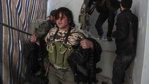 مقاتل من المعارضة السورية