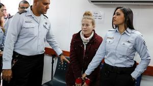 محكمة إسرائيلية تمدّد اعتقال الناشطة الفلسطينية عهد التميمي
