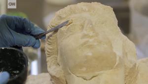 انقاذ كنوز تاريخية من تدمر بعد أن دمرها داعش