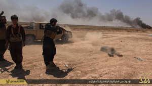 داعش تتبنى هجوم كركوك وتزعم قتل وجرح 200 من البشميرغة