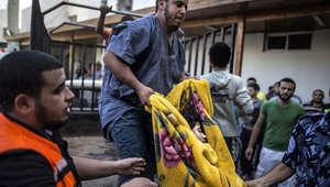 1255 قتيلا في غزة وعودة القصف على إسرائيل والأونروا تكتشف مخزنا للصواريخ بمدرسة