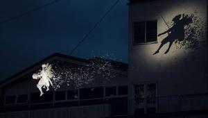 """عرض رقص جوي في """"ساحة الملائكة"""" في بريطانيا"""