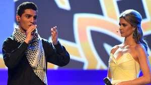 محمد عساف يشدو في البرازيل