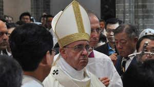 """بابا الفاتيكان يطلب """"الغفران"""" من الأطفال ضحايا التحرش الجنسي"""