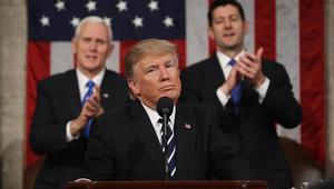 ترامب يفاجئ الكونغرس ويجدد نفسه بخطاب تصالحي: أترأس أمريكا وليس العالم
