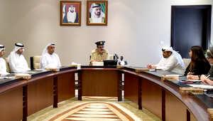 المؤتمر الصحفي للقائد العام لشرطة دبي