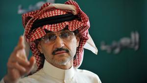 """الوليد بن طلال يهاجم موقعا """"فبرك"""" تصريحات عن اختياره """"سفيرا فخريا"""" للسعودية في إسرائيل"""
