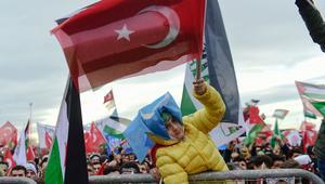 أردوغان: القدس نور عيوننا ولن نتركها لدولة إرهابية تقتل الأطفال