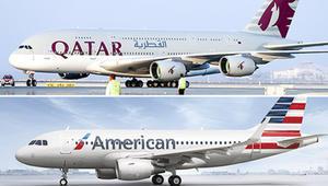 الخطوط الجوية القطرية تريد شراء حصة 10% من الخطوط الجوية الأمريكية