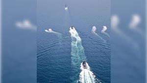 قوات قطر البحرية تنهي تمريناً مشتركاً مع البحرية التركية