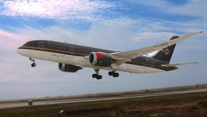 """""""الملكية الأردنية"""" تعلن رفع حظر الإلكترونيات على متن رحلاتها إلى الولايات المتحدة"""