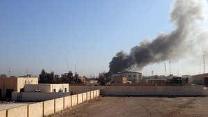 الصورة الأولى للدمار في الحي بعد سيطرة الجيش العراقي عليه