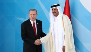 """أردوغان يلتقي أمير قطر ورصد لـ""""عدد قياسي"""" من القمم بينهما"""