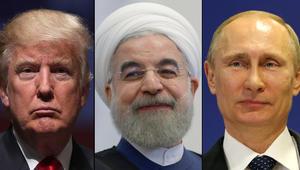 """الكرملين: روسيا لا تتفق مع ترامب حول """"إرهاب إيران"""""""