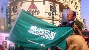 بذكرى 25 أبريل: غضب حول رفع متظاهرين علم السعودية.. وباسم يوسف: نظام مرعوب حمى مأجورين رافعين علم بلد تانية