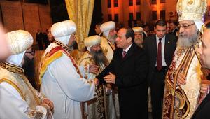 شاهد: السيسي يهنئ البابا تواضروس بعيد الميلاد.. ويعلن بناء أكبر مسجد وكنيسة العام المقبل: سأكون أول المساهمين