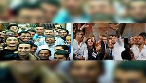 """مصر: الإخوان يقارنون بين """"سيلفي"""" السيسي بمؤتمر شرم الشيخ و""""سيلفي"""" مرسي بمسجد"""